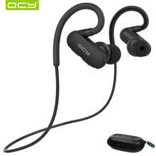 QCY QY31 Sports Headphones apt-x HIFI 3D stereo system Wireless Bluetooth Headsets IPX4 sweatproof with Mic for phone calling(China)