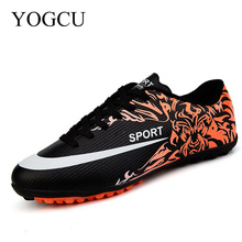 YOGCU Kids Cleats Indoor Soccer Shoes Superfly Chuteira Football Soccer Shoes Men Superfly Cheap Football Shoes For Sale Size 38