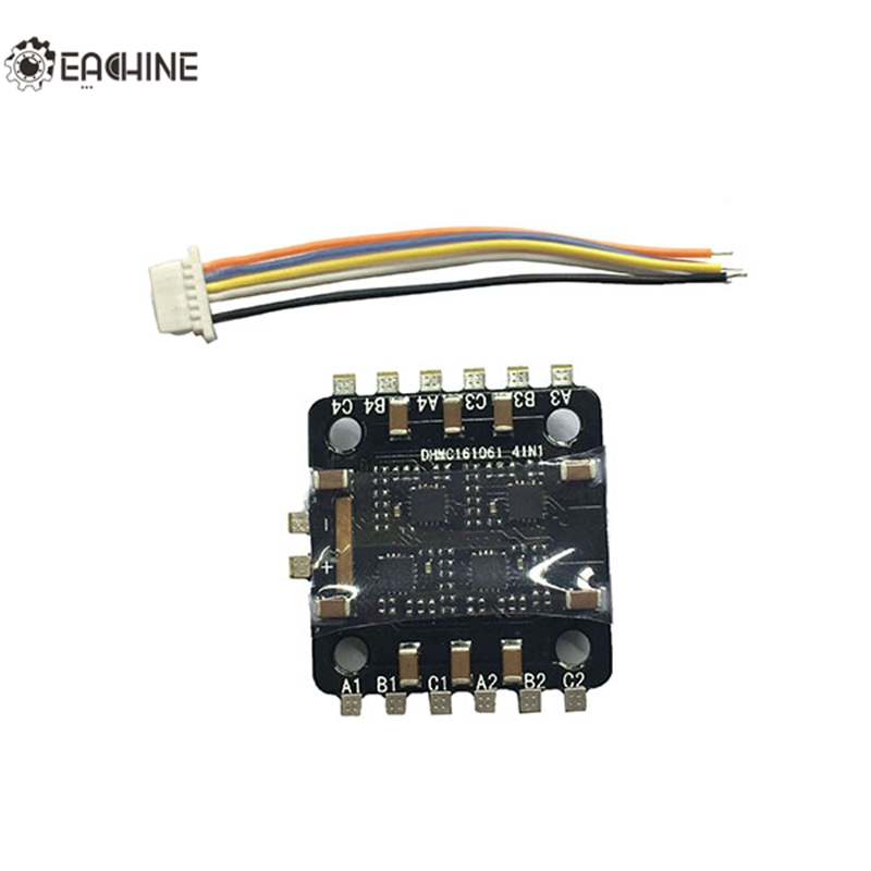 High Quality Eachine Chaser88 FPV Racer Spare Part  4 In 1 BLHELI-S 6A ESC DSHOT600 For RC Toys Models<br><br>Aliexpress