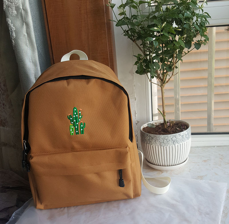 canvas school bag backpack (3)