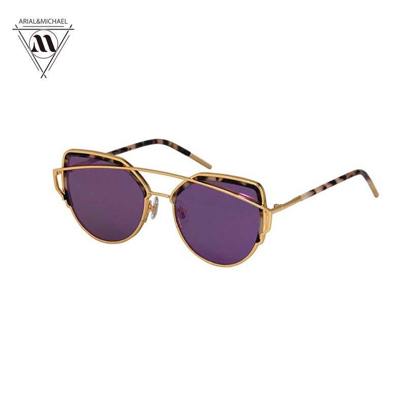 2017 New Arrival Cat Eye Sunglasses Women Vintage Fashion Rose Gold Mirror Sun Glasses Unique Flat Ladies Sunglasses Oculos <br><br>Aliexpress