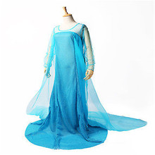 Blue Bling Snow Queen Adult Women Lady Party Prom Costume Sexy Dresses party dress