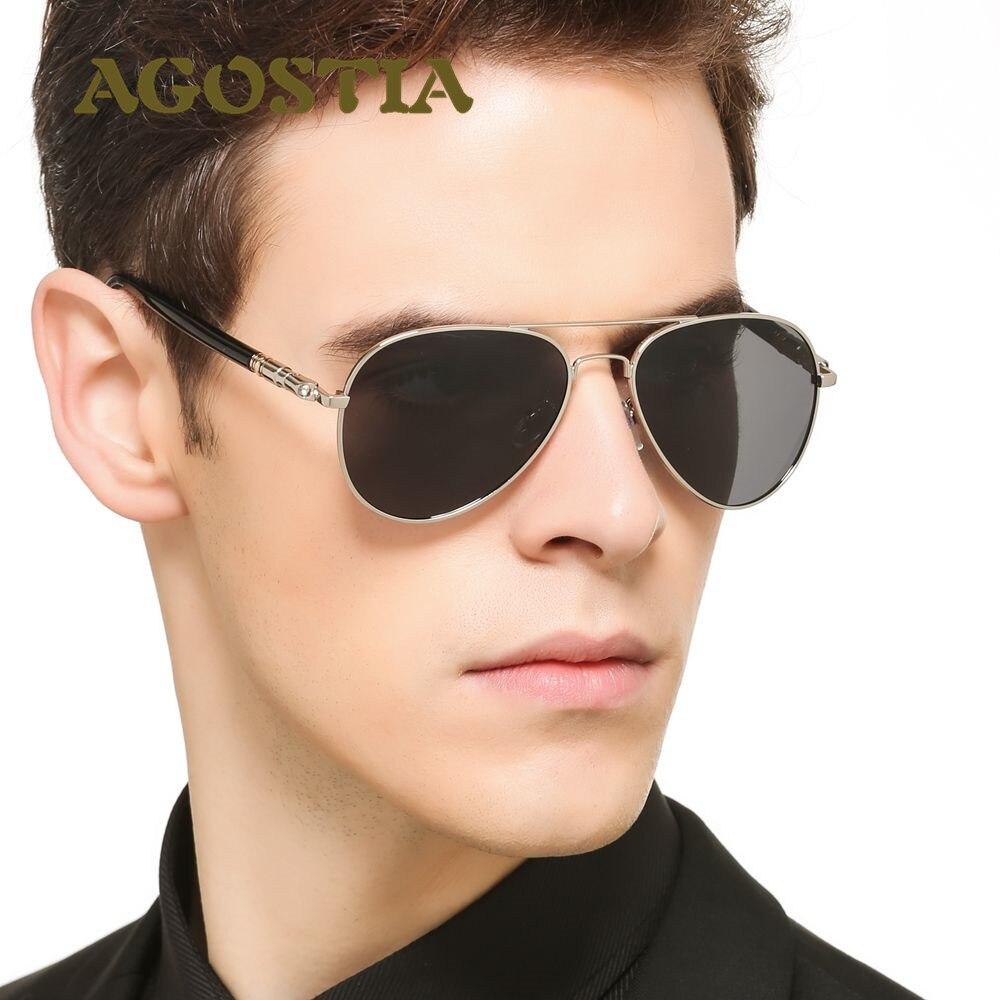 Hot Agostia Brand Designer Sunglasses Polarized Aviation Oculos Fashion Men women Sun Glasses UV400 male driving fishing eyewear<br><br>Aliexpress
