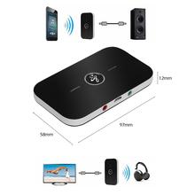 2in1 Bluetooth Transmitter Receiver HIFI Wireless Receiver A2DP Portable Audio Player Aux 3.5mm Jack Bluetooth Audio Adapter