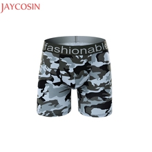 Buy Plus Size L-XXXL Fashion Mens Panties Sexy Lingerie Breathable Cotton Camouflage Underwear Male Shorts Boxers Underpants Ma29