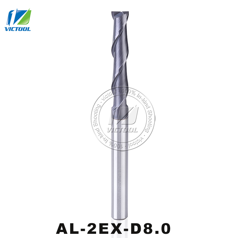 GM-2EX-D8.0 Cemented Carbide 2 Flute Flattened End Mills With Straight Shank Supper Long Cutting Edge 8mm Shank Milling Cutter <br><br>Aliexpress