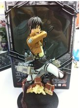 Mikasa Ackerman / Eren Jaeger  Attack on Titan furyu figure toy doll for great gifts