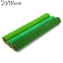 KiWarm Grass Mat Artificial Lawns Carpets for Building Model Doll Houses Garden Miniatures Model Making Floor Decoration 50x50cm
