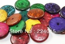 Free Shipping 100/20mm Mixed Abacus Wood Spacer Dyed Round/ Circle/ Ring  Beads For Necklace /Bracelet Accessry