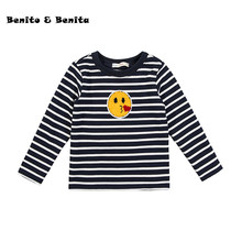 Benito & Benita Girls' Sweater Kids Clothes Cardigan Woolen Cable Knit Cardigan Embroidery Baby Girl Clothes Children Sweater