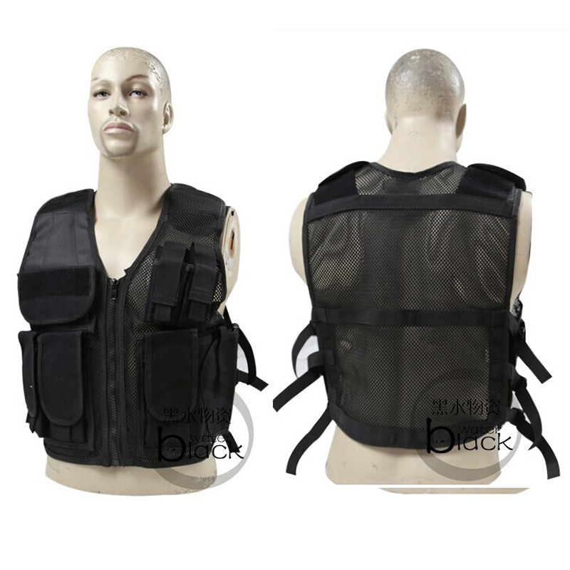 US special forces tactical vest CS combat training military fan protective equipment outdoor mesh / breathable tactical vest<br><br>Aliexpress