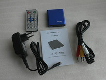 JEDX MINI Full HD 1080P USB External HDD Media player SD MMC card reader HOST OTG MKV H.264 RMVB DVD MPEG FREE SHIPPING!