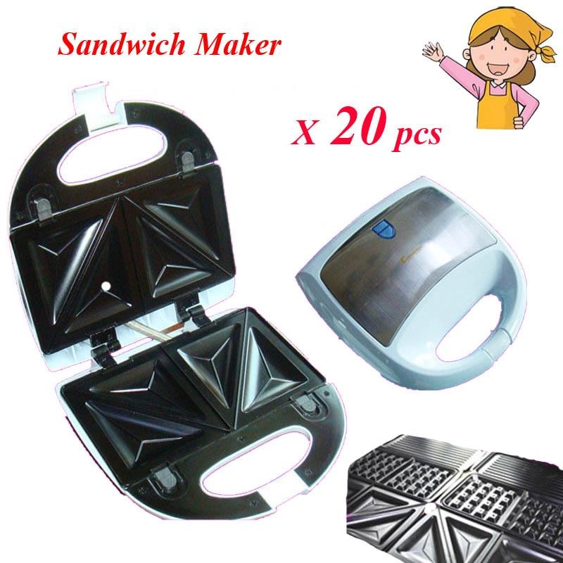 20pcs/lot  Sandwich Maker Toast Bread Breakfast Machine Household Waffle Maker KY-18<br><br>Aliexpress
