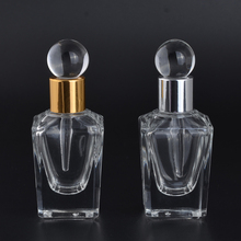 MUB - Fashion Glass Dropping Bottles 15ml Personality Empty Essential Oils Perfume Bottle