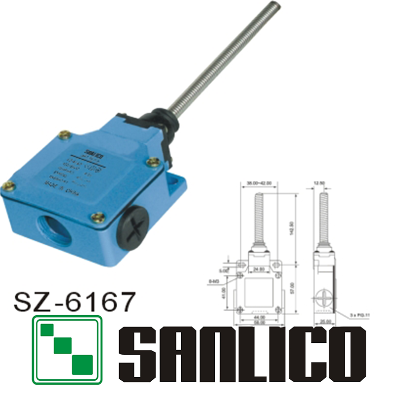 metal limit switch SZ-6167  limit switch micro switch<br><br>Aliexpress