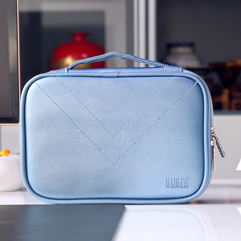 BUBM Electronic Accessories storage Bag Digital Gadget Devices Cable USB Flash IPAD Organizer Travel Carry Case Cosmetic Bag