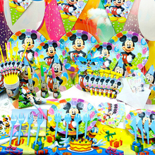 90pcs/2014 New Kids Birthday Party Decoration Set Birthday Hello KittyMouse Theme Party Supplies Baby Birthday Party Pack(China)