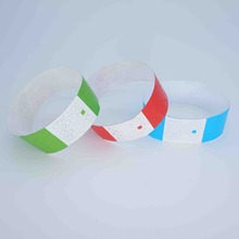 Event products 100pcs no logo cheap tyvek wristbands/paper wristbands,high quality cheap slap bracelets