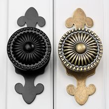 Hot Selling 1pc Antique Drawer Knobs Gold Shoe Box Kitchen Cabinet Knobs and Pulls(China)
