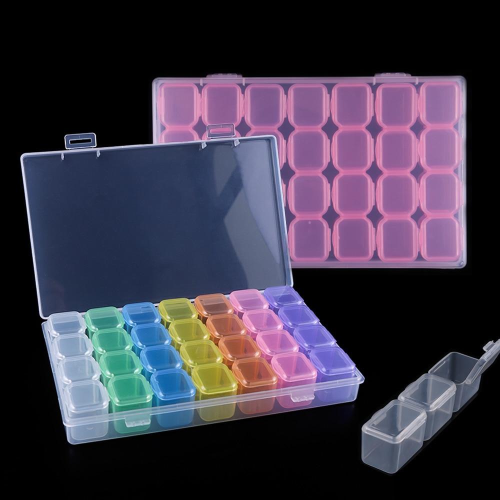 nail storage box set