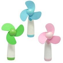 Vococal мини-милый Портативный цветок Электрический Батарея работает рук ручной вентилятор охлаждения cool ventilateur гаджеты Интимные аксессуары(China)