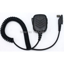 SECUDA Handheld/Shoulder Mic with Speaker for Icom Radios IC F3161 F4161 T/S