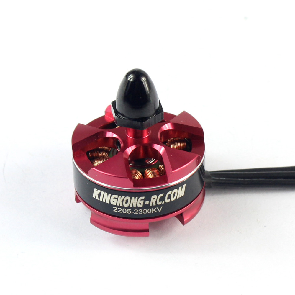 JMT 2205 2300KV 2-4s Burshless CCW Motor Silver Head CW Black with Motor Mount for FPV Racing Drone Quadcopter F19939/40