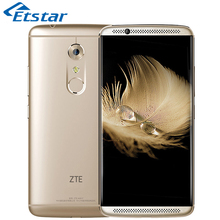 Original ZTE Axon 7 A2017 Mobile Phone 5.5'' 2K Display Snapdragon 820 Quad Core 4GB RAM 64GB ROM 20.0MP Camera Android 4G