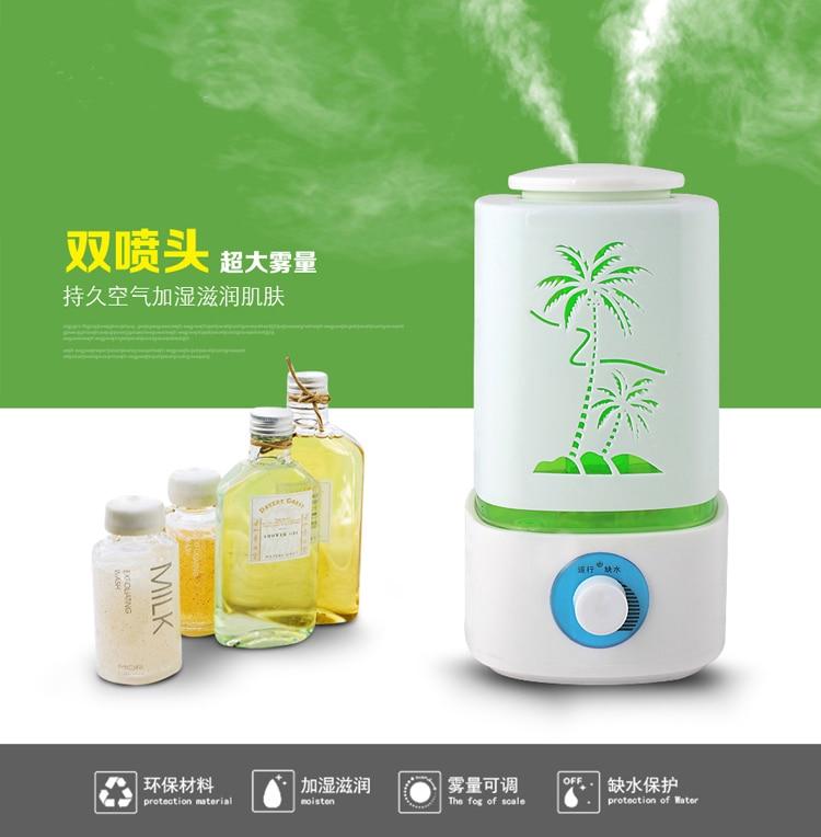 Humidifier Essential Oil Diffuser Aroma Diffuser Umidificador Mist Maker Aromatherapy Diffuser Nebulizer<br>