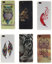 20 Style Aztec Mobile Cases Huawei P8 Lite Beautiful Silicon Gel Cover Coque Etui TPU Protection Case for Huawei Ascend P8 Lite