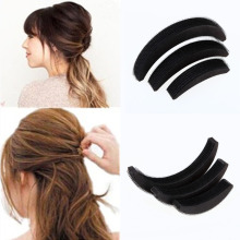 3 Pcs Different Sizes Fluffy Crescent Clip Bangs Paste Root Hair Increased Device Good Hair Heighten Tools for Girl H7JP(China)