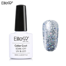 Buy Elite99 10ml Glitter Pearl Color Nail Gel Polish Soak LED UV Gel Lacquer Lady Long Lasting Gorgeous Gel Varnish Bling Polish for $1.39 in AliExpress store