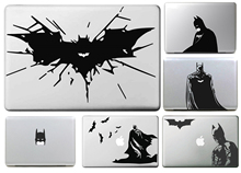 Bat Man Side Decal for apple Sticker Macbook Air 11 12 13 Pro 13 15 17 Retina Decal Laptop Wall Car Vinyl Logo Skin Case