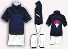 Naruto cosplay costume Sasuke free size cosplay costume top pants  sasuke cosplay uniform
