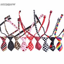 SYDZSW Pet Tie Cat Dog Accessories Chihuahua Grooming Products 3 Pieces Casual & Fashion Puppy Dog Tie Adjustable Size 20-44cm