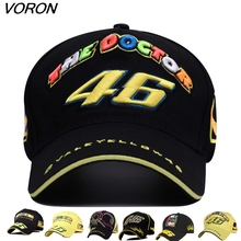 New Rossi 46 embroidered baseball cap five panel VR46 Motorcycle Racing Cap men women Baseball Hat adjustable bones snapback