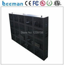 Leeman P10 outdoor advertising led display screen sign board moving electronic digital panel module cabinet message billboard