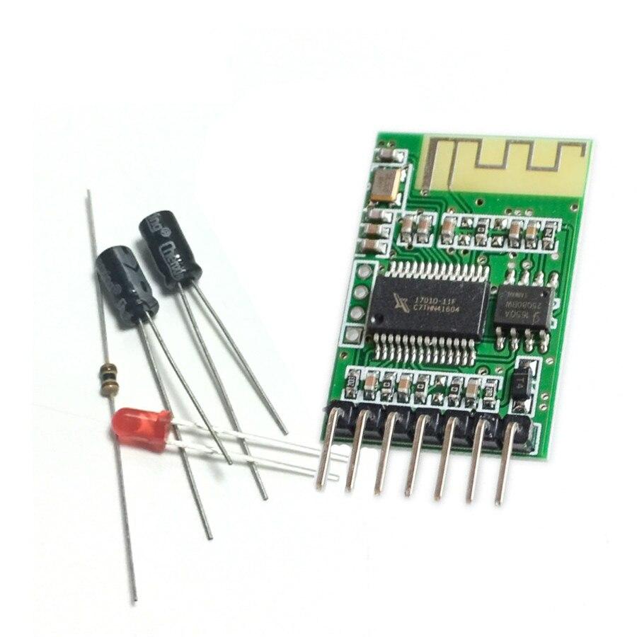 Bluetooth audio receiver template, stereo wireless speaker, power amplifier modified DIY Bluetooth module 4.0 DIY Starter Kit