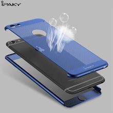 ipaky Original Cooling Net Plastic 360 Degree Full Body Coverage Fitted Cases for iphone 6 6S 7 7Plus Best Heavy Duty Protection