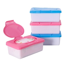 Portable Dry Wet Tissue Paper Case Baby Wipes Napkin Storage Box Plastic Holder Container(China)