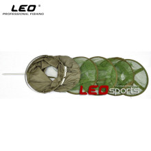 LEO 5 Layer Collapsible Long Tube Fishing Net Folding Fish Care Net to Keep Fish Alive in the Water Fishing Tool 1.5M 1.8M
