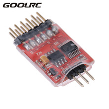GoolRC Original 5.8G 3 Channel 3 Way Video Switch Unit Video Switcher Module with High Speed Video Switch Chip for FPV Camera