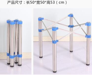 High table legs. The bar table legs<br>