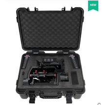 Aluminum waterproof DJI ronin M case plastic protective box impact resistant protective case with custom EVA lining(China)
