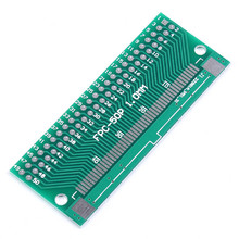 5pcs FPC 50P Adapter Board Pinboard FFC to 2.54mm TFT 1mm 0.5mm Pin Space Double Side PCB Board Test Electronic Circuirt Board