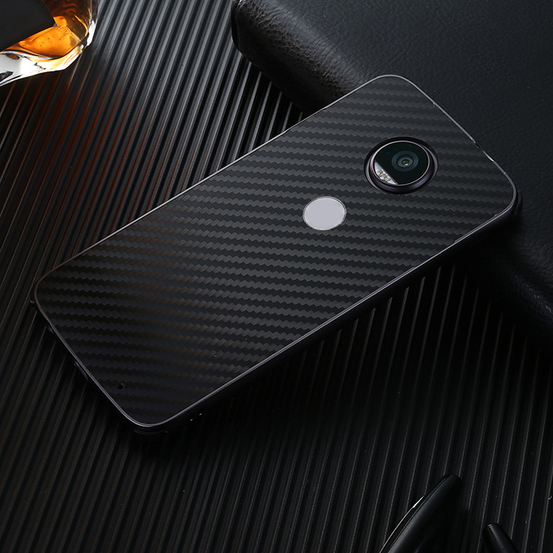 Luxury Metal Phone Case For Motorola MOTO E4 Plus Europe Version Electroplating Aluminum Bumper + Carbon Fiber PC Back Cover(China)