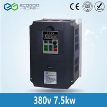 Promotion ! 7.5KW frequency converter inverter for 6KW 7.5KW 380V cnc spindle motor(China)