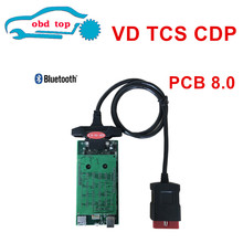 Black/Golded color can choose VD TCS CDP PRO 2014.R2 /2015R3 Software Auto OBD2 Diagnostic Scan Tool CDP For Car Truck(China)