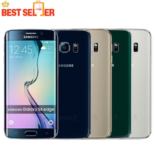 "Hot Samsung Galaxy S6/s6 edge Original Unlocked 4G GSM Android Mobile Phone G925F Octa Core 5.1"" 16MP 3GB RAM 32GB ROM"