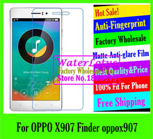 For OPPO X907 Finder x907 LCD film case Matte Anti-glare mobile protective film to phone screen protector de pantalla projector